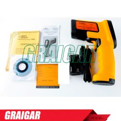 AS882 Non-contact Laser Lcd Display Digital IR infrared thermometer Temperature Meter Gun Point -18~1650 Degree