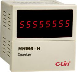 c-lin HHM6-H two independent output reversible meter / counter AC220