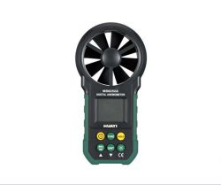 Free shipping MS6252A Anemometer Air Velocity Flow Temperature,Digital Anemometer