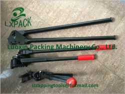 LX-PACK Steel strapping tool The sealless joint reduces the overall strapping costs High and consistent joint efficiency