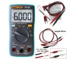 ANENG AN8002 Auto/Manual 6000 counts LCD Backlight and Alligator clip AC/DC Ammeter Voltmeter Ohm Portable Meter