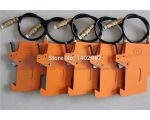 Pneumatic knife holder for slitter machine, air blades holder for slitting blades